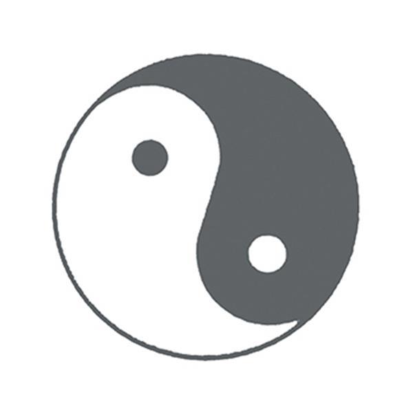 Yin Yang Temporary Tattoo - Yin Yang Temporary Tattoo
