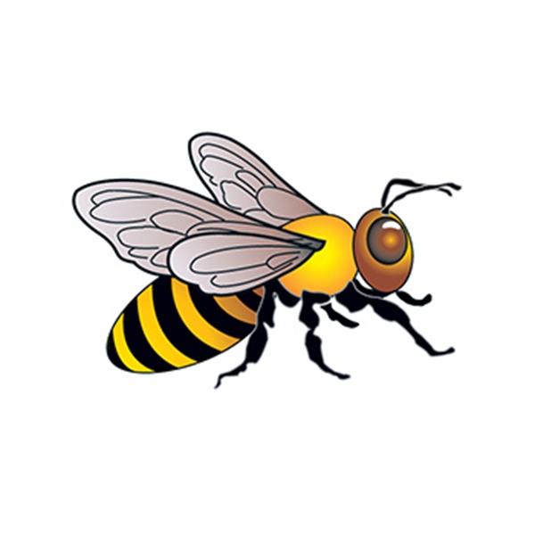 Bee Temporary Tattoo - Bee Temporary Tattoo
