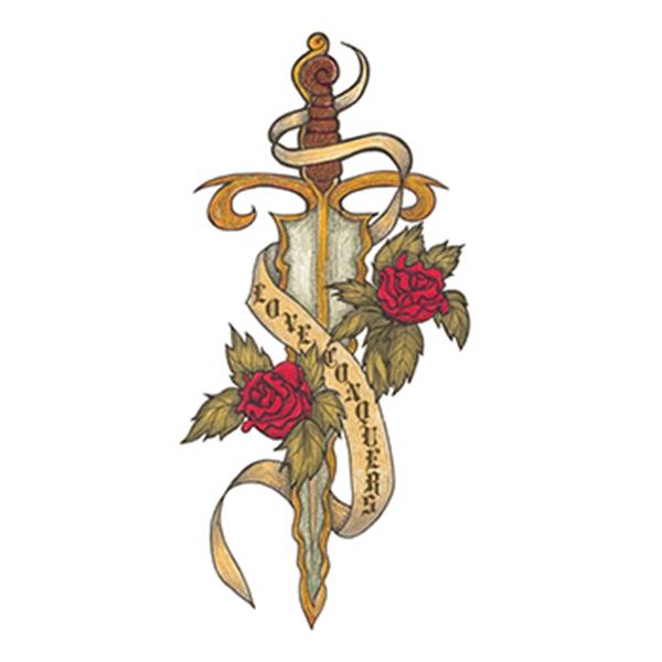 Dagger Temporary Tattoo