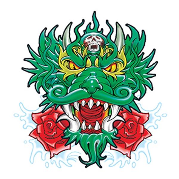 Chinese Dragon Temporary Tattoo