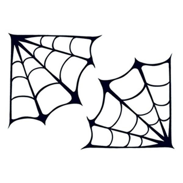 Spider Webs Temporary Tattoo - Spider Webs Temporary Tattoo