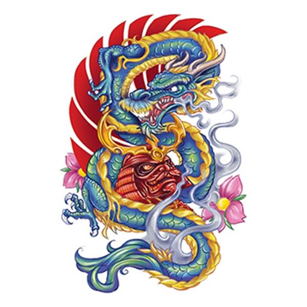 Apalala Dragon Temporary Tattoo - Apalala Dragon Temporary Tattoo