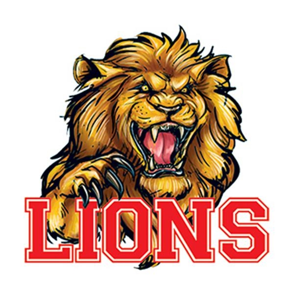 Lions Mascot Temporary Tattoo - Lions Mascot Temporary Tattoo