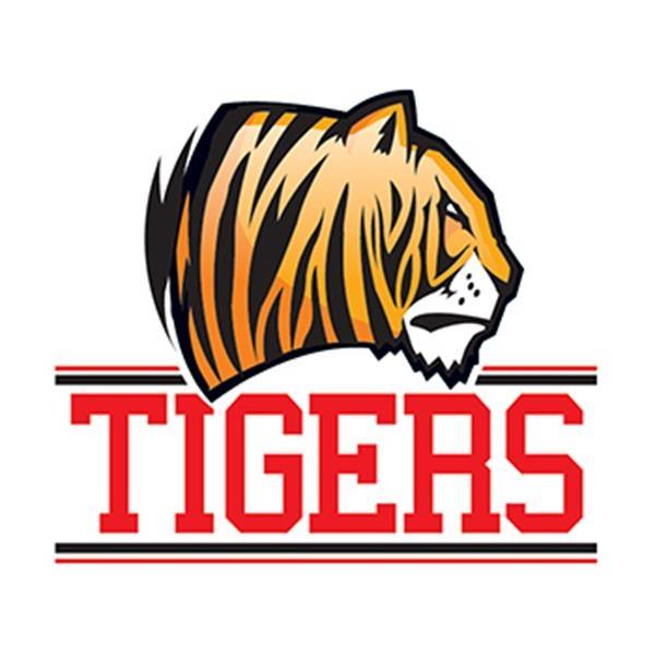 Tigers Mascot Temporary Tattoo - Tigers Mascot Temporary Tattoo