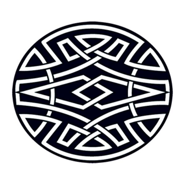 Celtic Circle Temporary Tattoo