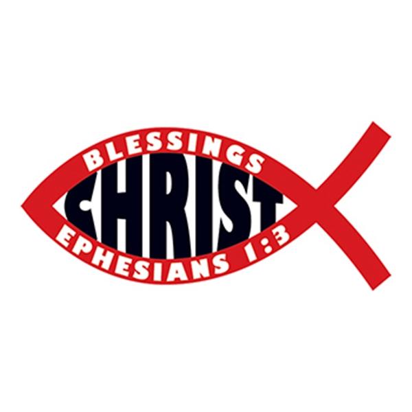 Jesus Fish: Christ Temporary Tattoo - Jesus Fish: Christ Temporary Tattoo