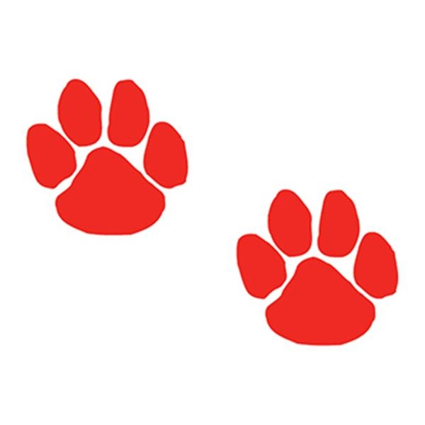 Two Red Paws Temporary Tattoo - Two Red Paws Temporary Tattoo