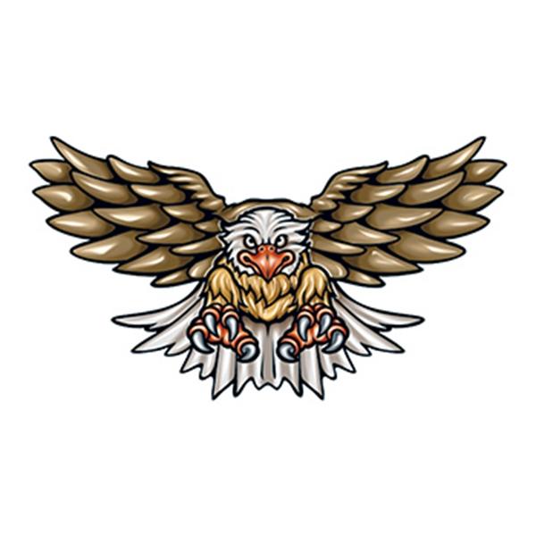 Flying Eagle Temporary Tattoo - Flying Eagle Temporary Tattoo