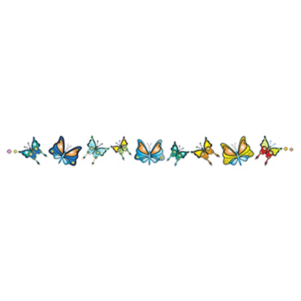 Band of Butterflies Temporary Tattoo - Band of Butterflies Temporary Tattoo