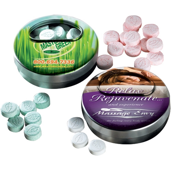 Cinnamon Mints in Twisting Mint Tin - Cinnamon Mints in Twisting Mint Tin