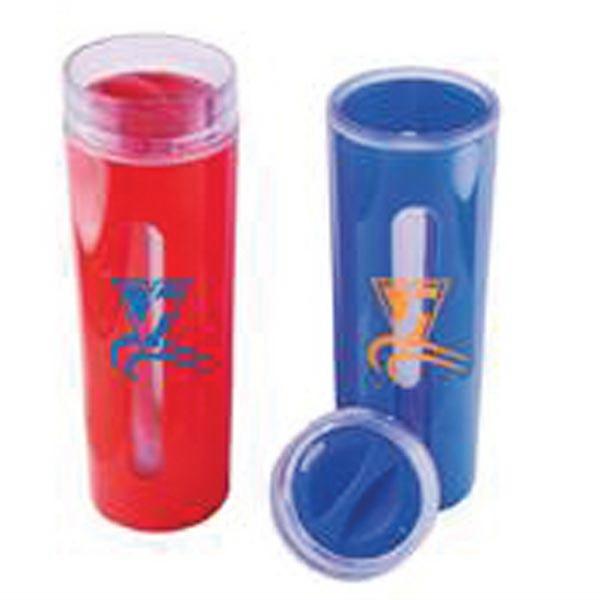 Clear Vue Plastic Mug