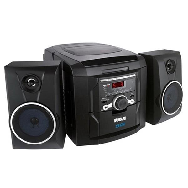 5 CD Mini Hi-Fi Audio System