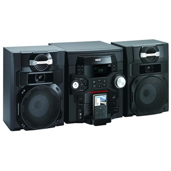 300W Audio System with 5 CD Changer