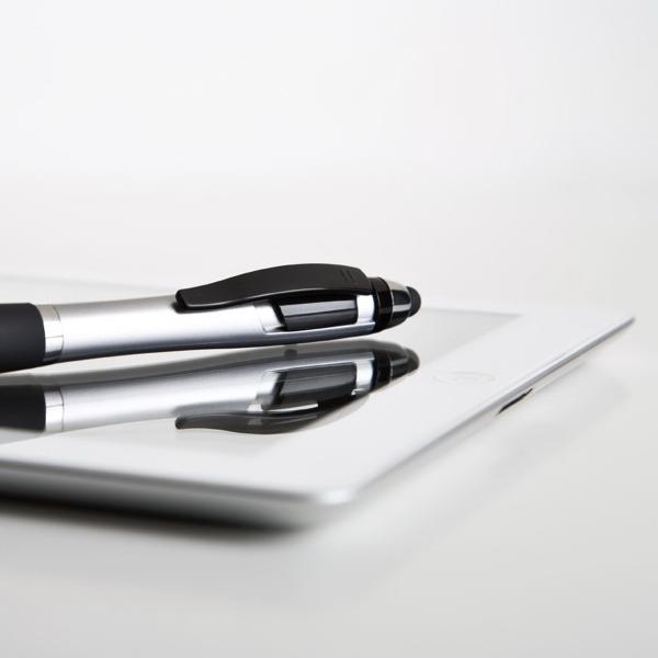 Clip click action Stylus Ballpoint Pen