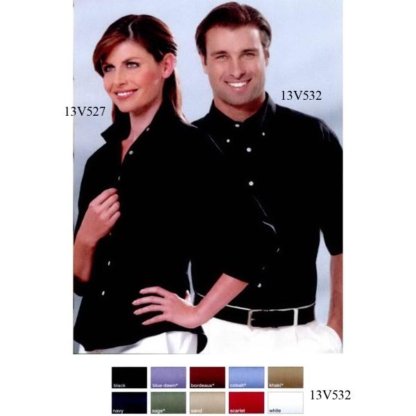 Men's Twill Short Sleeve Dress Shirt