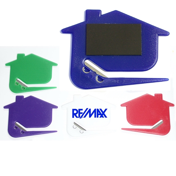 Jumbo Size House Letter Opener with Magnet