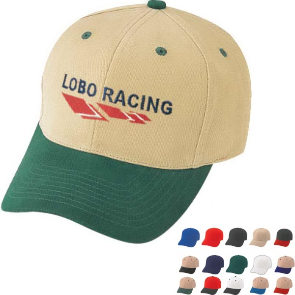 Pro Style Constructed Heavy Brushed Cotton Twill Cap