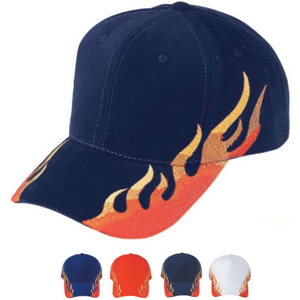 Pro Style Constructed Heavy Brushed Cotton Flare Cap