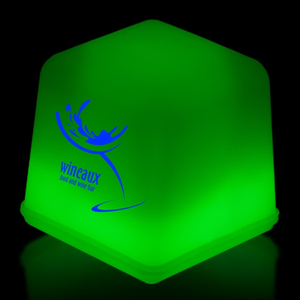 Green Glow Light Up Ice Cubes Packed in Tray of 24 Pieces