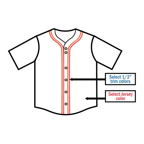 Adult & Youth Custom Baseball Jersey