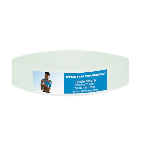 """Foto Flex Wristband - 3 1/2"""" x 5/8"""""""