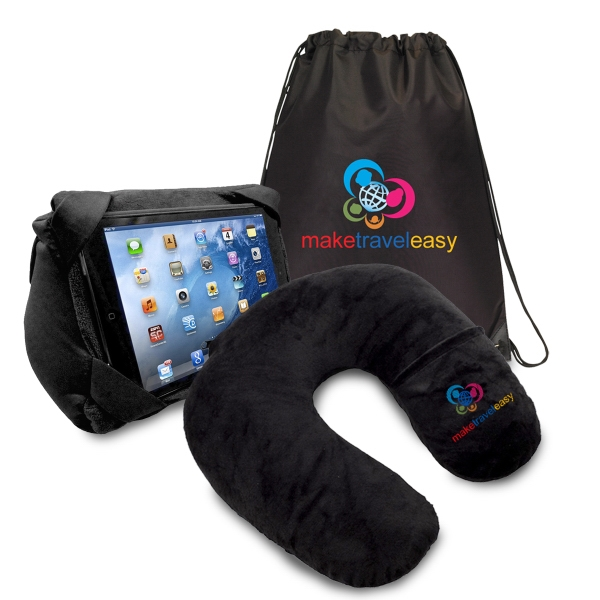 2 IN 1 TABLET PILLOW TO GO