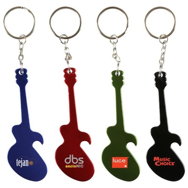 Guitar Bottle Opener Key Chain