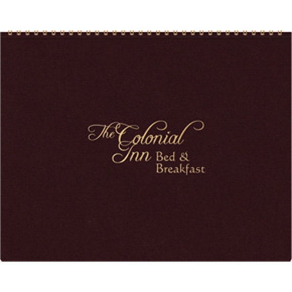 The President Monthly Planner - Leatherette Wraparound