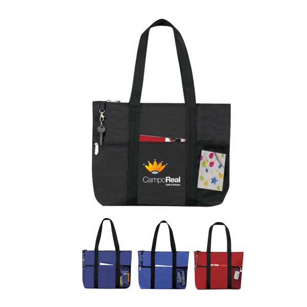 Zipper Travel Tote