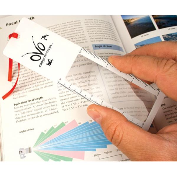 Bookmark Magnifier - Bookmark magnifier