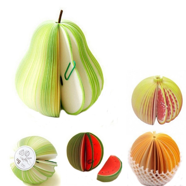 Fruit Shaped Notepad