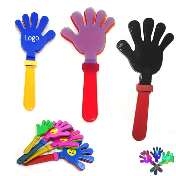 Hand Shaped Plastic Clapper