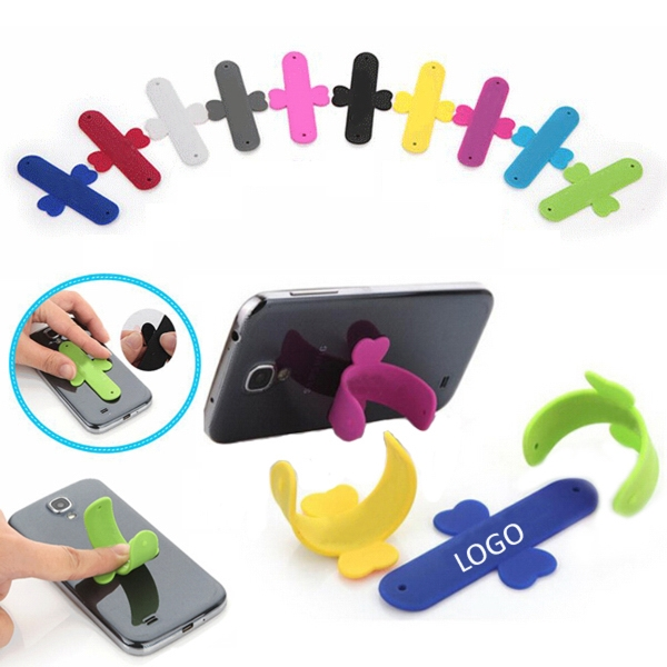 U-Shaped Silicone Phone Holder
