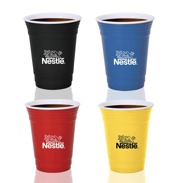 16Oz. Ceramic Party Cup