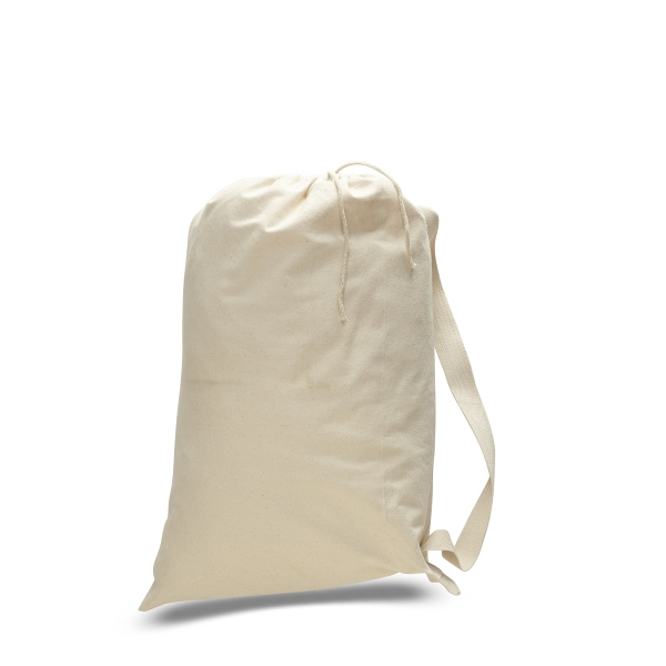 "Canvas Drawstring 19"" x 27"" Medium Bag"