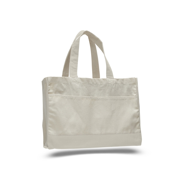 "Canvas Standard Tote 17"" x 13"" with 5"" Gusset Bag"