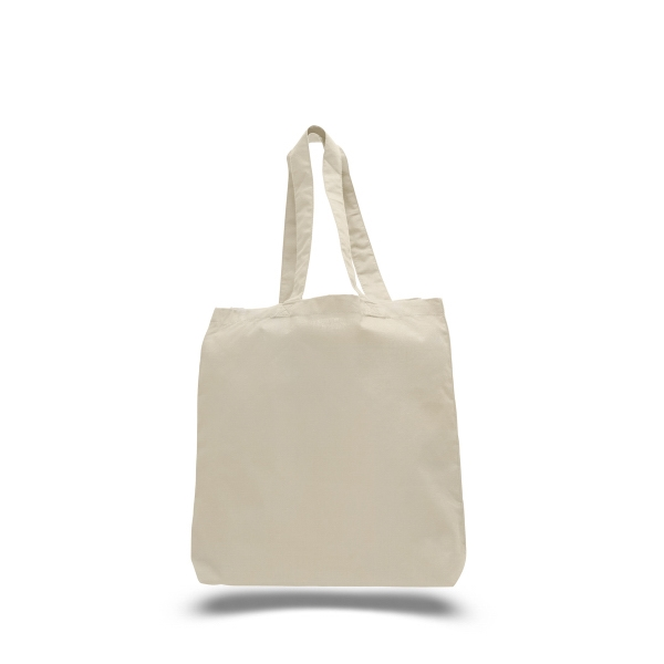 "Economical Tote 15"" x 16"" Bag with 3"" Bottom Gusset"