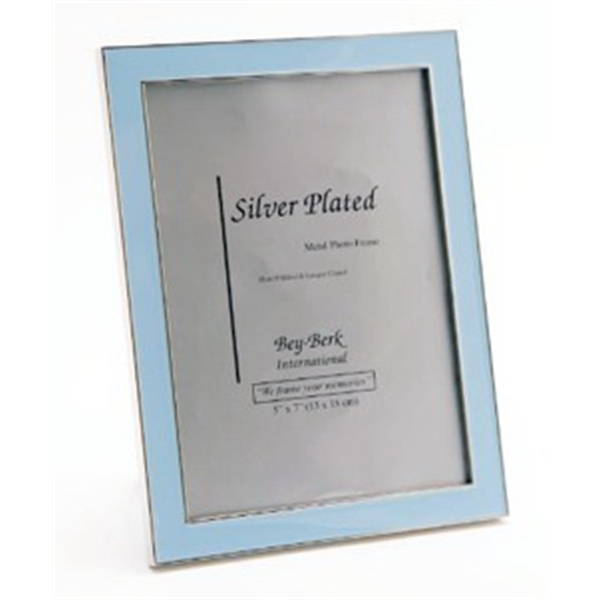 Picture Frame - Blue 5 x 7 picture frame