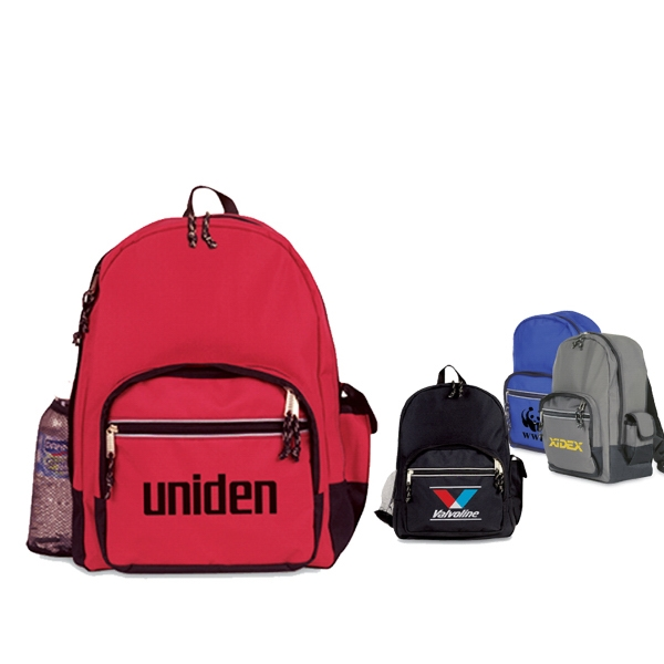 Microfiber backpack with Reflective stripe