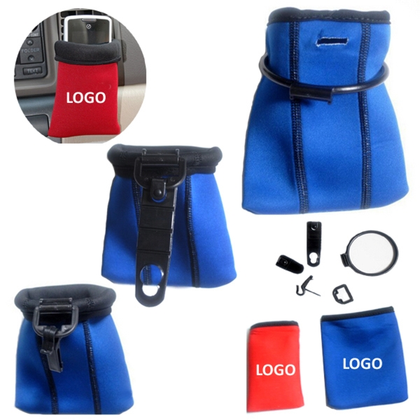 Car Dashboard Neoprene Pouch