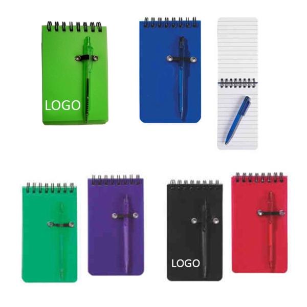 """5"""" x 3 1/2"""" Spiral Notebook"""