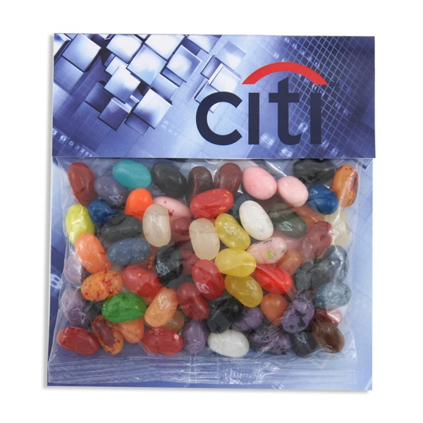 Large Billboard Full Color Header Bag- with Jelly Beans - Large Billboard Full Color Header Bag- with Jelly Beans