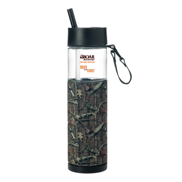 Mossy Oak(R) Sport Bottle with Sleeve - 24 oz