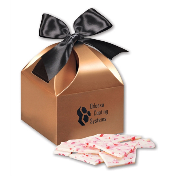 Peppermint Bark in Copper Gift Box