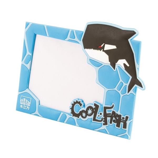 "3D PVC Photo Frame; Holds 6"" x 4"" photo"
