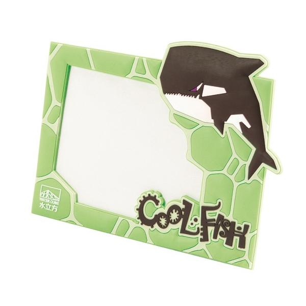 "3D PVC Photo Frame; Holds 8"" x 10"" Photo"