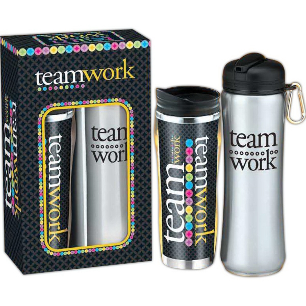 Deluxe Hot & Cold Beverage Gift Set