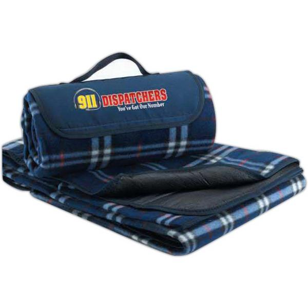 911 Dispatchers Fleece Picnic Blanket