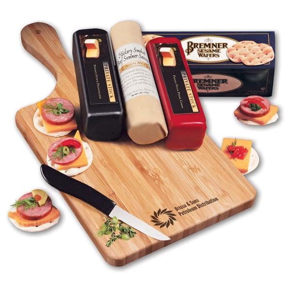 Shelf-Stable Cheese Lover's Sampler