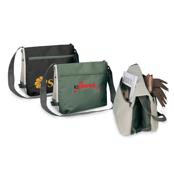 Reversible messenger Bag with full color process